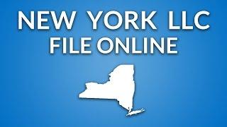 New York LLC - Formation Documents (online filing)