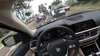 FIZ O TEST DRIVE NA NOVA BMW 320i !!