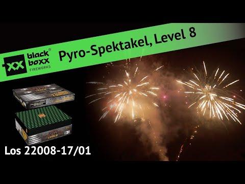 Blackboxx Pyro-Spektakel, Level 8 (Los 22008 - 17/01)