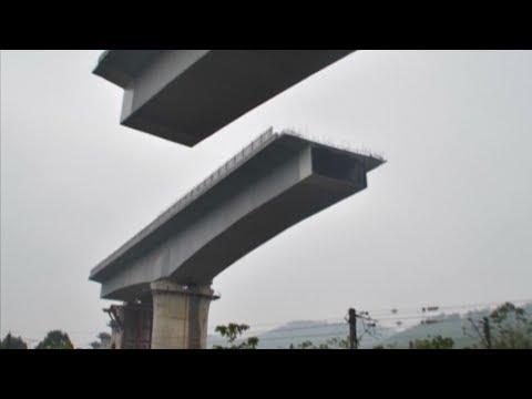 Key bridge in China railway system upgrade docked in east China