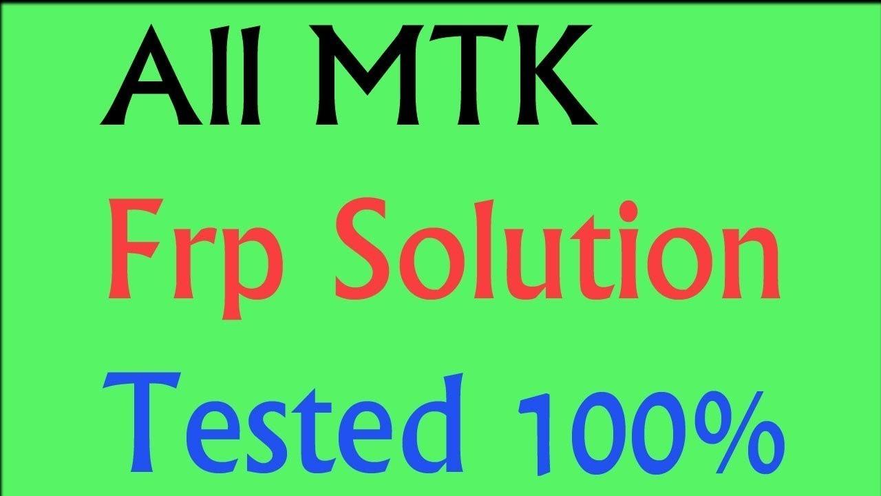 MTK all chipset FRP removing tool - Videourl de