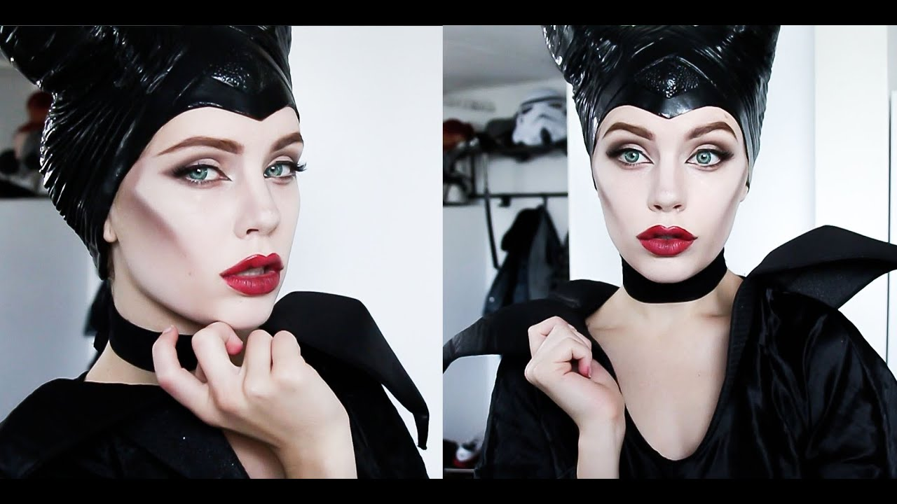 Halloween series maleficent makeup tutorial youtube baditri Gallery