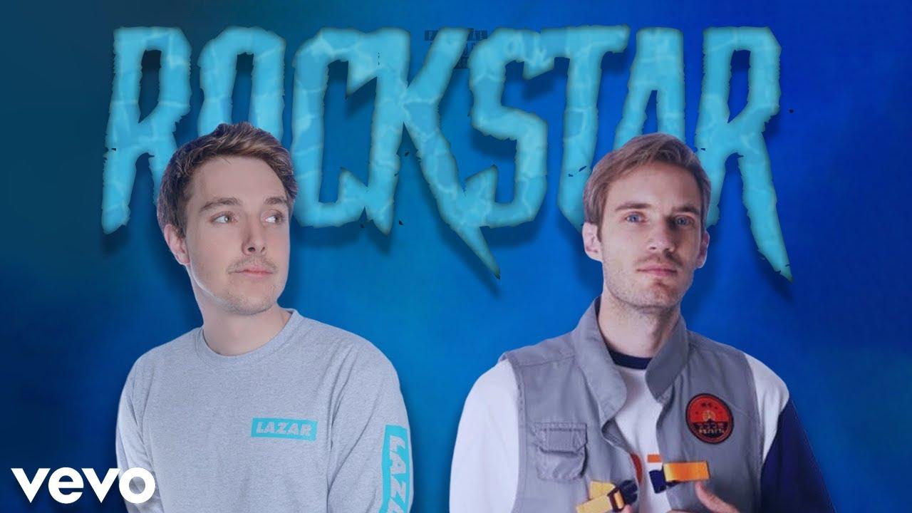 LazarBeam & PewDiePie Sing Rockstar (DUET)
