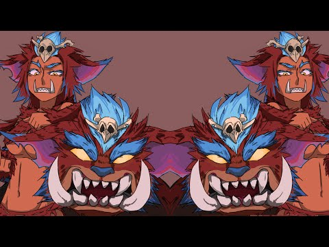 Mega Gnar 100% Critical Strike Animation
