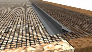 """Permeable Install : PAVE EDGE Industrial GEO GRID """"WRAP"""" METHOD"""