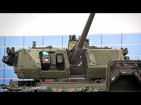 American Dragoons Get Their Up Armored Firepower In Germany