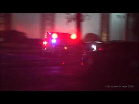 New Jersey Transit Police ESU Responding
