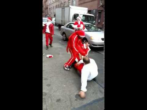 Dana McKenzie - Watch Santas Brawl In NYC; The Christmas Spirit Is Alive And Well