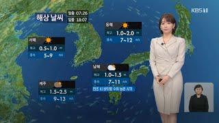 강아랑 기상캐스터 210210 KBS 9시 뉴스