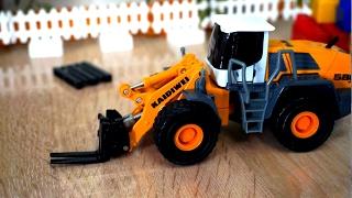 Строительная техника и игрушечные машинки. Все серии подряд. Видео для детей