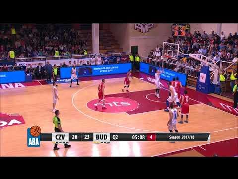 ABA Liga 2017/18 highlights, Round 4: Crvena zvezda mts - Budućnost VOLI (15.10.2017)