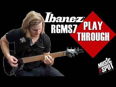 PlayThrough: Ibanez RG Multiscale 7 String