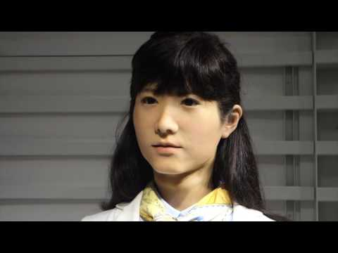 Junco Chihira: Information Desk Android at Odaiba