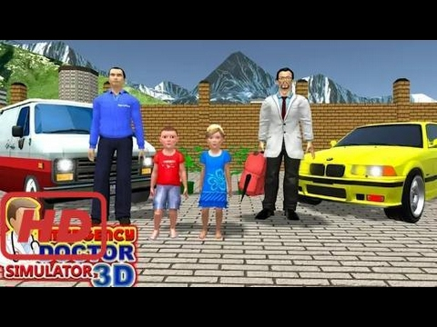 Emergency Doctor Simulator 3D  - Android gameplay KidRoider  Movie  apps  free  kids  best  #MEM