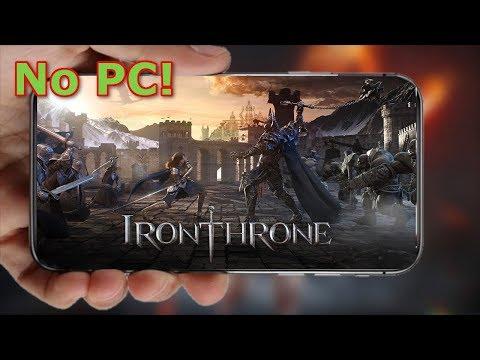 Iron Throne: Um dos Melhores Games de Estratégia dos Mobile NO PC!!! Omega Play