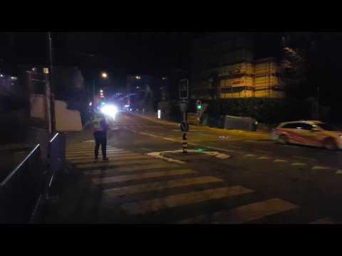 swiss-police-motorcade