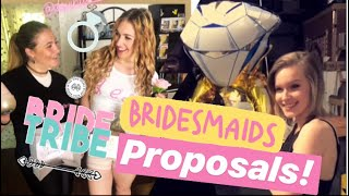Bridesmaid Proposal Boxes | Bridal Vlog Series pt 1 | Devin Dennis