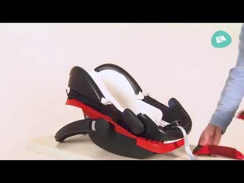 Maxi Cosi Pebble Plus ➤ Как снять чехол?