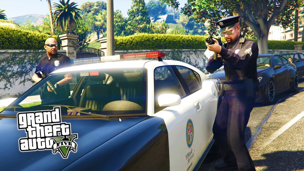 GTA 5 PC Mods - PLAY AS A COP MOD #2! NEW UPDATED GTA 5 Police Mod ...