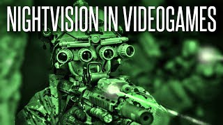 Night Vision Goggles in Real Life vs Video Games