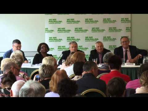 Macmillan Parliamentary Question Time Question 5 NHS staffing and patient experience