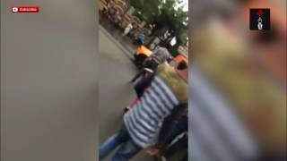 Video Of BJP MLA Wife Rams Lamborghini Into Auto
