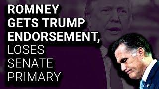 Trump-Endorsed Mitt Romney Fails to Secure Senate Nomination