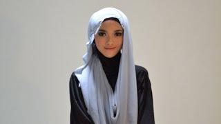 Hijab Tutorial Style 58 by Puteri Hasanah Karunia Thumbnail