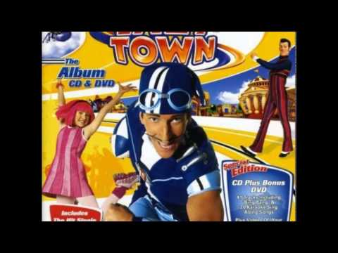 LazyTown - Man On A Mission
