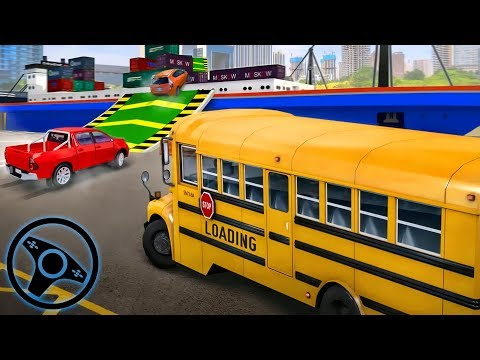 City Driver Roof Parking Challenge - Driving Garbage Truck | Android Gameplay