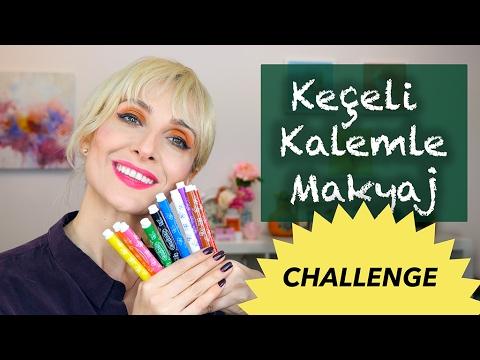 Make-Up Challenge with KEÇELİ CASTLE | Sabile Ölmez