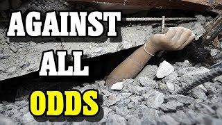 Woman SURVIVES Under Collapsed Building - FACT or FICTION?