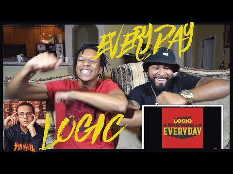 "He's back at it AGAIN!!! Logic & Marshmello - ""Everyday"" 