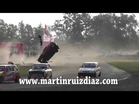 Monomarca Fiat 2017. Final Autódromo del Reconquista Auto Club. Finish Big Crash Rolls