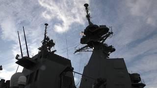 M181208 海上自衛隊佐世保基地 護衛艦『あさひ』公開と『すずつき』入港