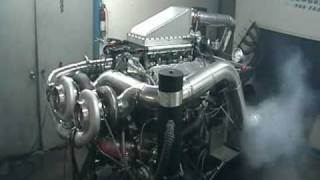 2200 HP Twin Turbo 540 Dyno Pull Video V8TV