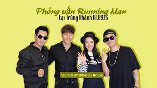 [MongJi's House][Vietsub] (150918) Phỏng vấn Running Man tại Trùng Khánh