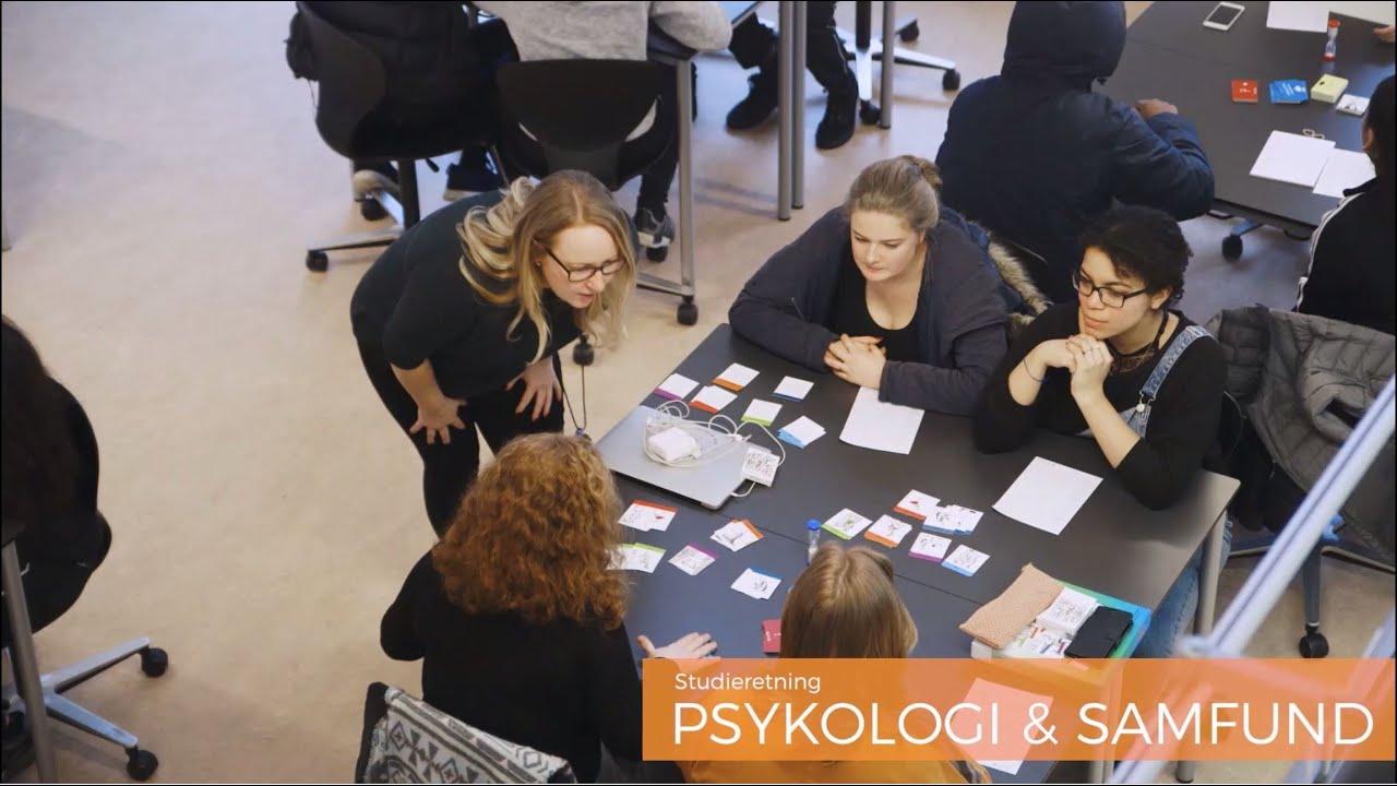 Studieretning // Psykologi & samfundsfag