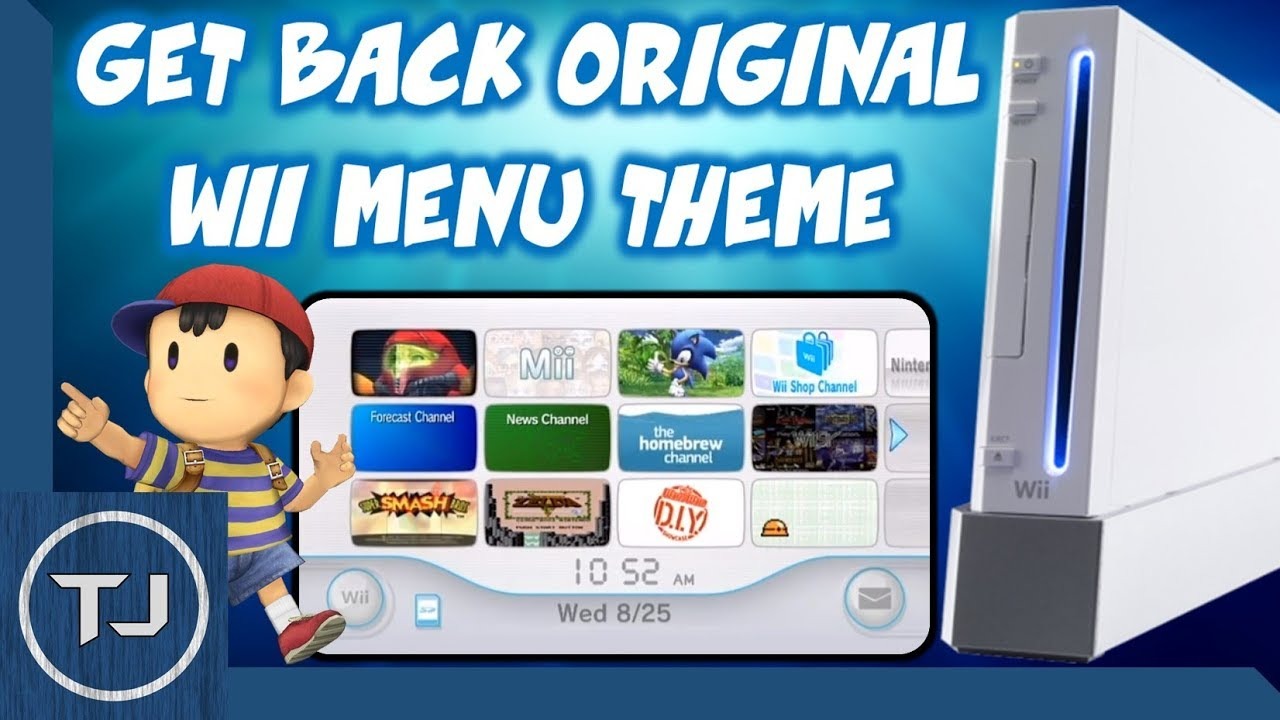 How To Get The Original Wii Theme Back! (NUS Downloader) 2017!