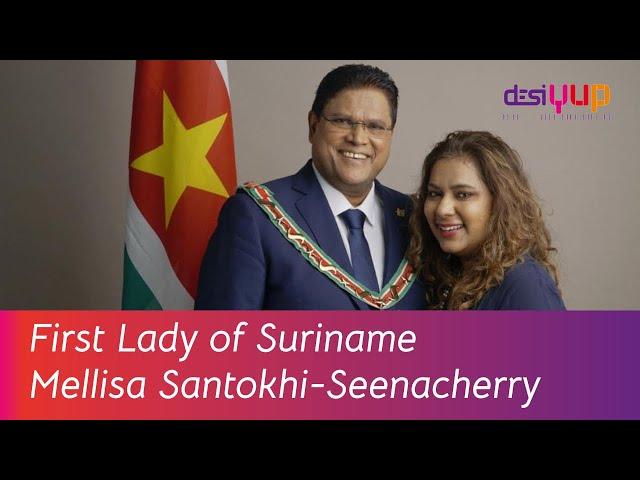First Lady of Suriname Mellisa Santokhi-Seenacherry