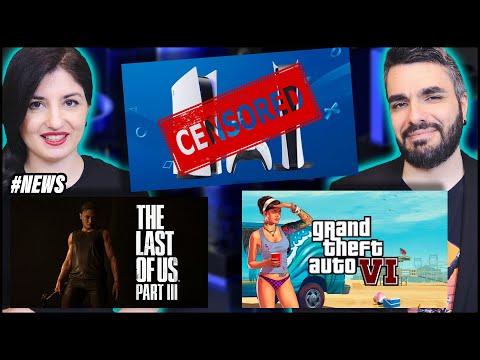 PS5 VIENE CENSURATA   THE LAST OF US 3: CI SIAMO?   GTA 6 NUOVI RUMOR, MA... #NEWS