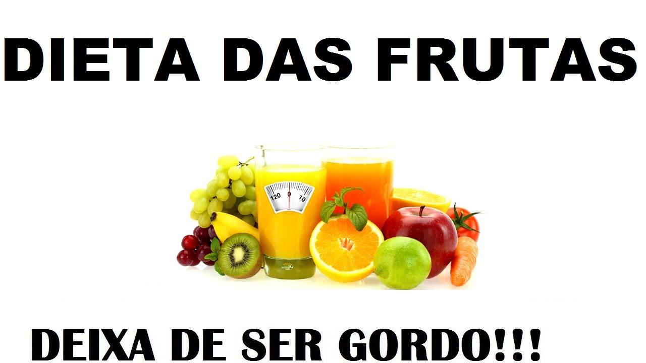 dieta da fruta antes e depois