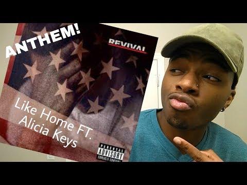 Eminem & Alicia Keys LIKE HOME (REACTION) #SurfaceTown