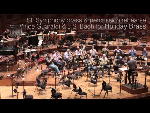 SFS in Rehearsal: SF Symphony Holiday Brass Concert