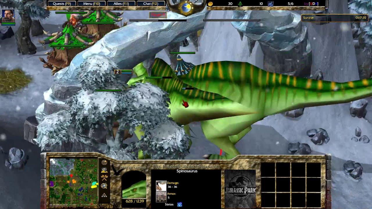 Warcraft 3 Reforged - Jurassic Survival v1.1i (pve)