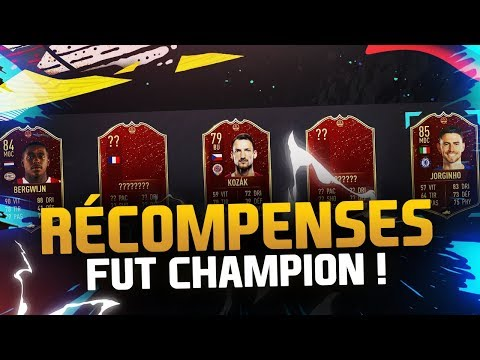 RÉCOMPENSES FUT CHAMPIONS !