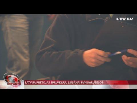 Latvijā pretojas sprunguļu likšanai PVN karuseļos