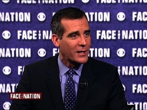 Los Angeles Mayor Eric Garcetti addresses Donald Sterling controversy