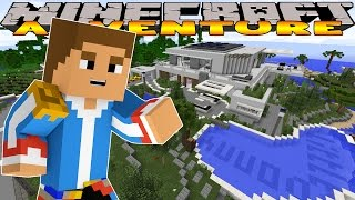 Minecraft-Little Donny Adventures- A TOUR OF MY AMAZING VILLA w/ DONUT & IRON MAN