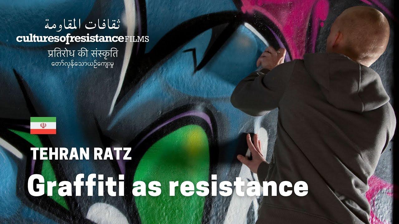Tehran ratz graffiti for a new iran youtube
